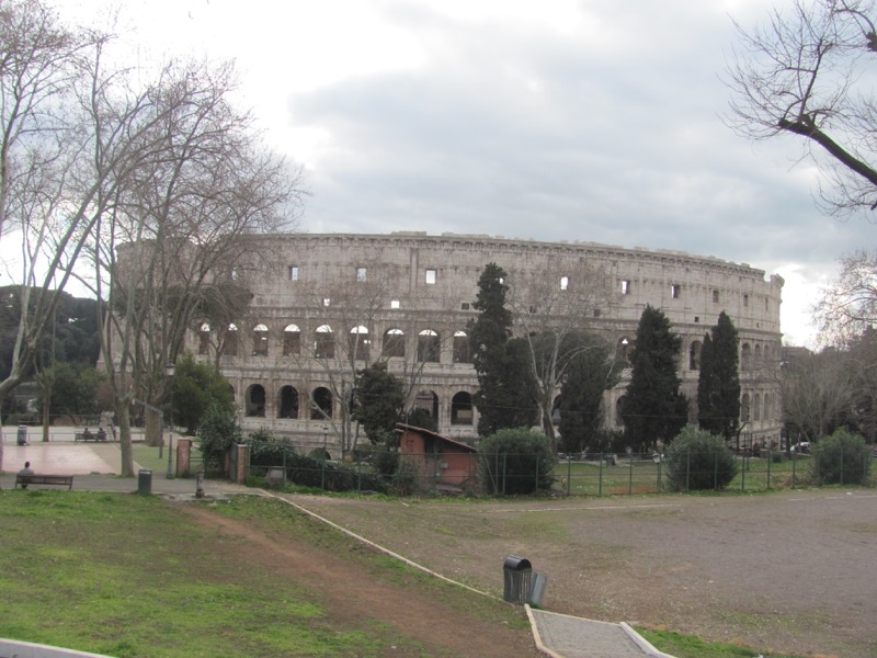 Colosseum Rome Greece-Italy Tour February 2017