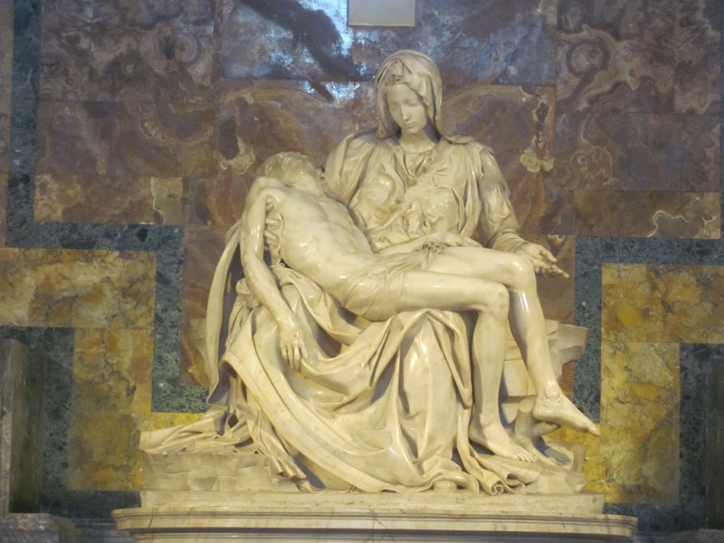 St. Peter's Basilica Pieta Greece-Italy Tour February 2017