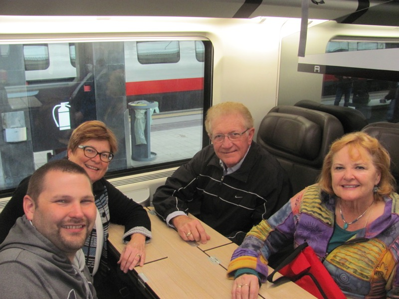 high speed train rome to florence Greece-Italy Tour February 2017