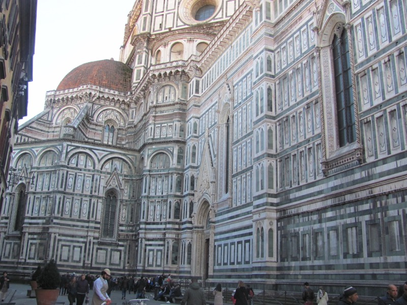 The Cathedral florence Italy Greece-Italy Tour February 2017