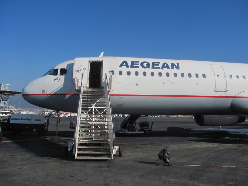 Aegean Airlines Thessaloniki Greece Tour February 2017