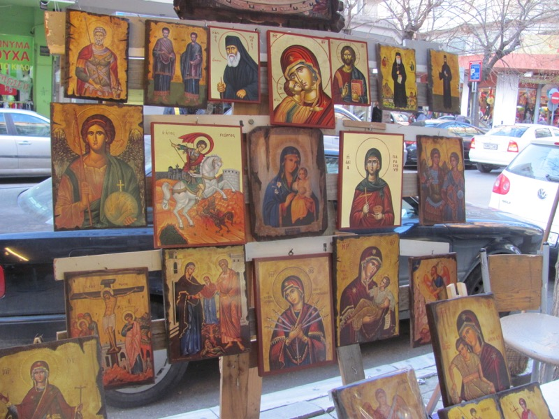 Greek Orthodox in Thessaloniki Greece Tour February 2017