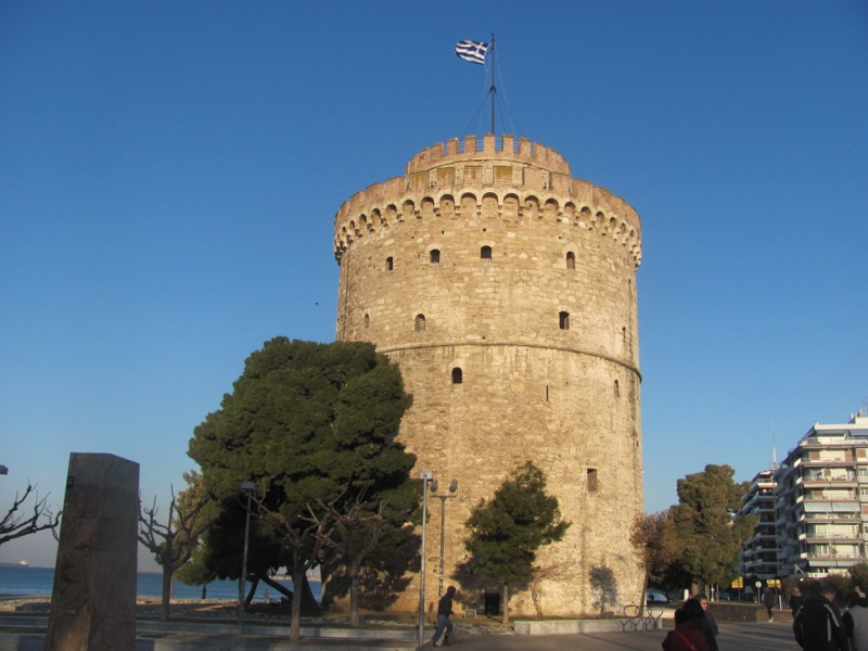 White Castle Thessaloniki Greece Tour 2017