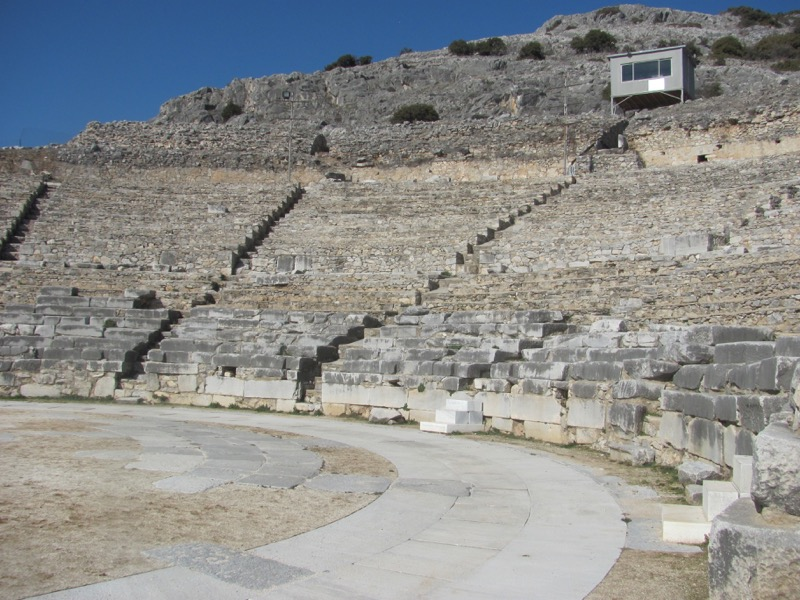 Philippi theater Greece Tour 2017