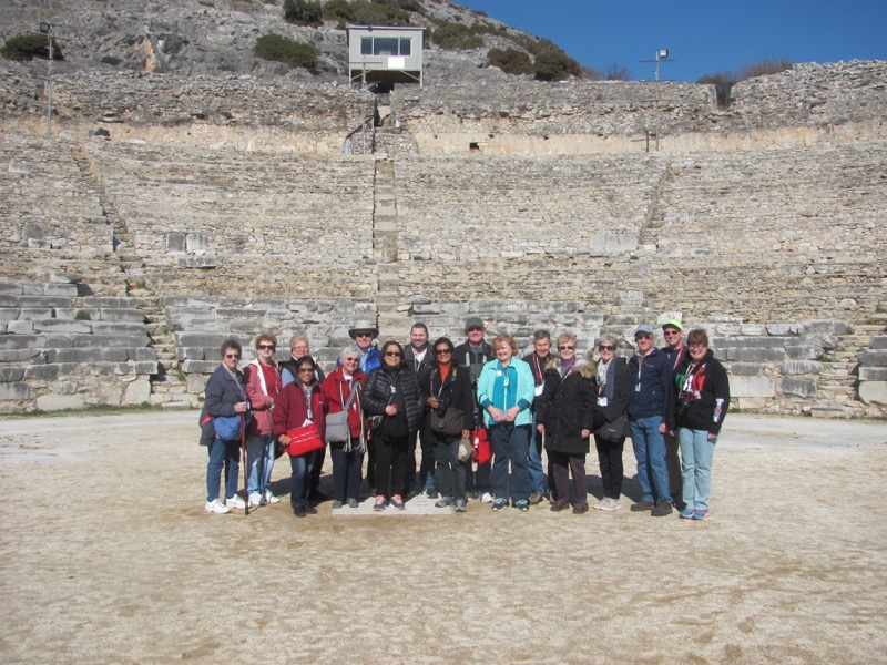 Biblical Greece Tour, February 2017 – Day 3 Summary