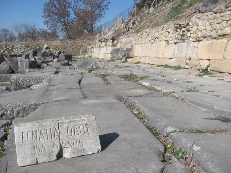 Philippi Via Egnatia Greece Tour 2017