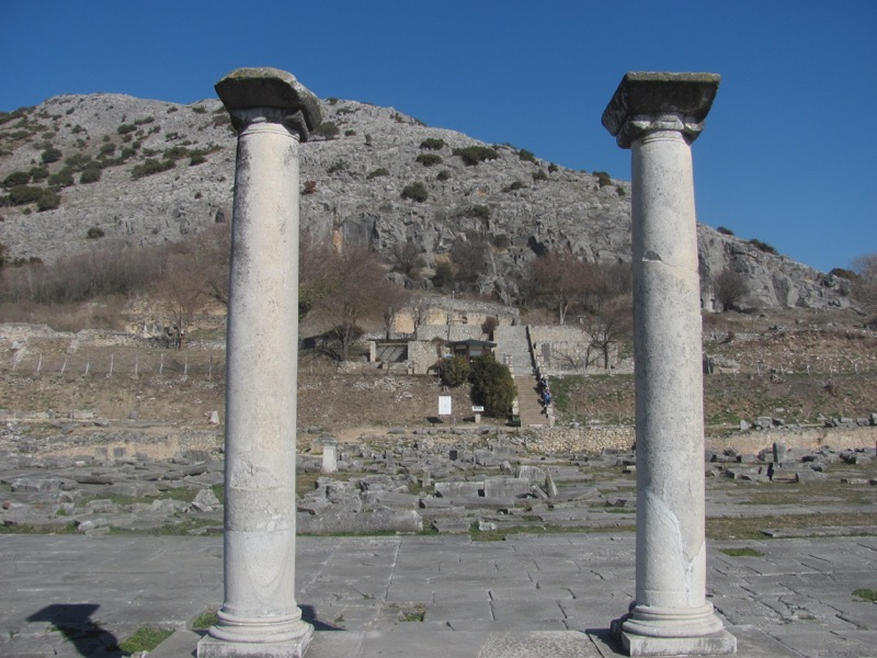 Philippi Agora Greece Tour 2017
