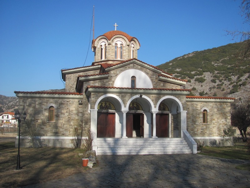 Chapel of Lydia Philippi Greece Tour 2017