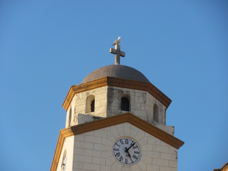 Kavala Greek Orthodox steeple Greece Tour 2017