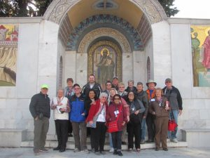 February 2017 Greece Tour Group at Berea