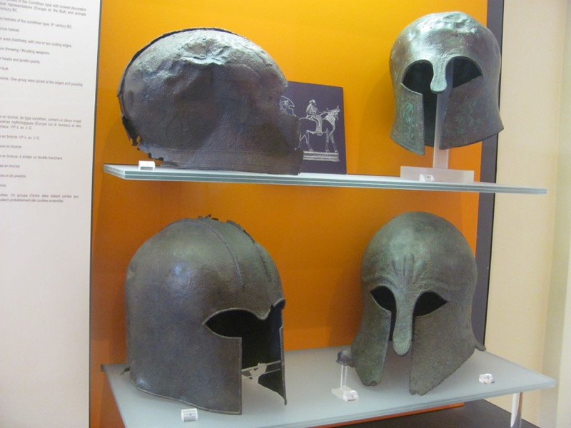 sparta masks Delphi February 2017 Greece Tour