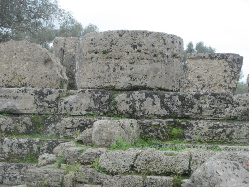 Olympia Temple of Zeus February 2017 Greece Tour