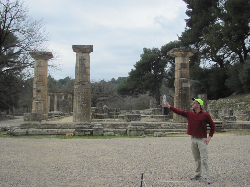 Olympia Temple of Hera February 2017 Greece Tour