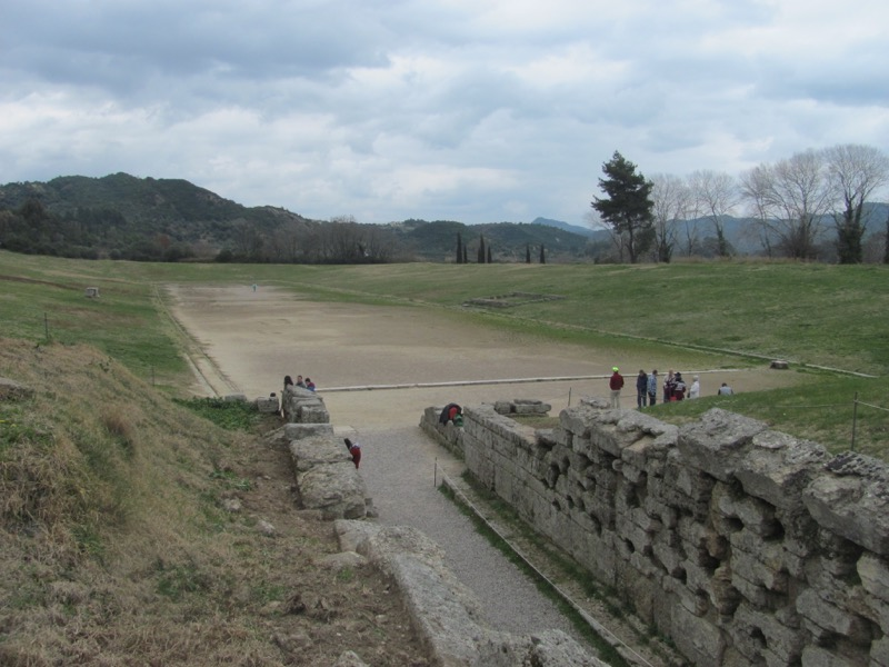 Olympia stadium February 2017 Greece Tour