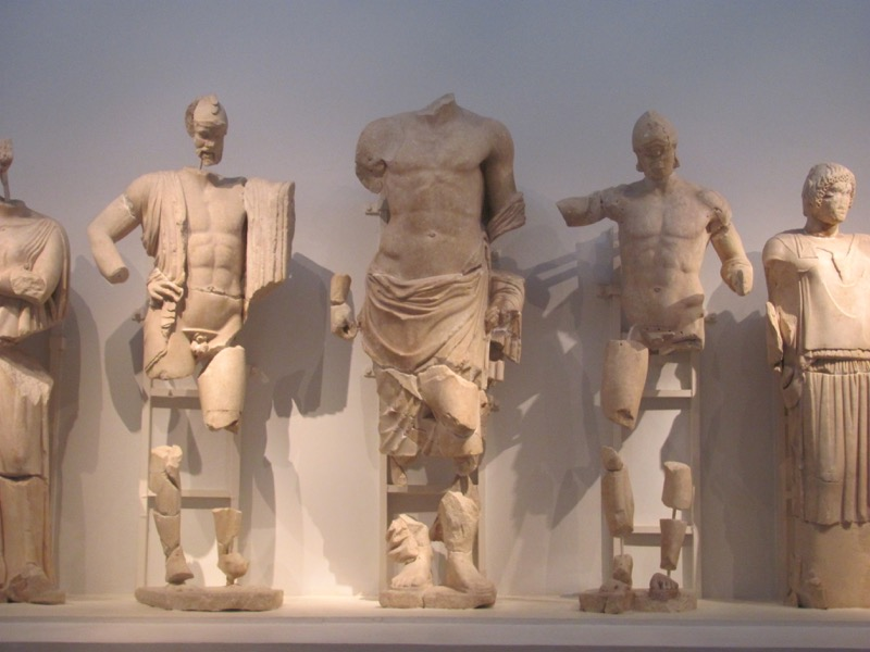 Olympia museum February 2017 Greece Tour