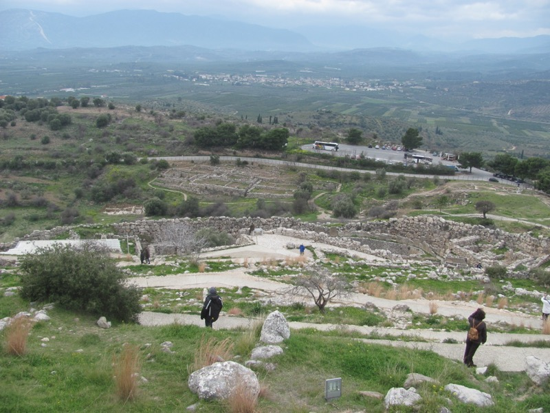 Mycenae February 2017 Greece Tour
