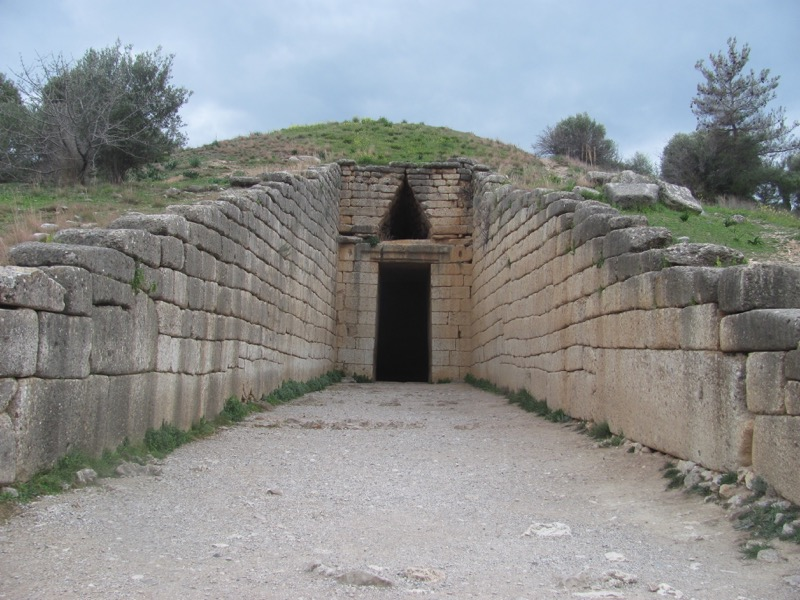 Mycenae Tomb of Agamemnon February 2017 Greece Tour