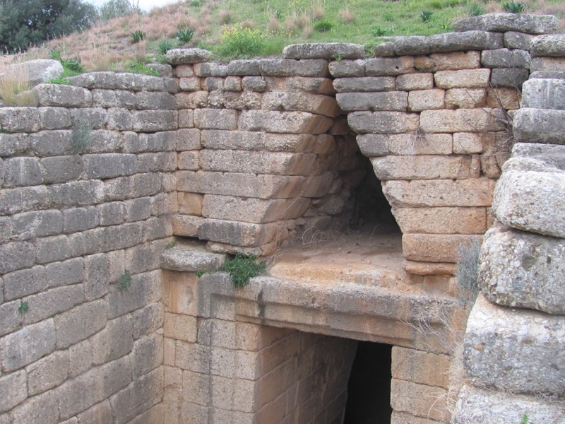 Mycenae Agamemnon February 2017 Greece Tour