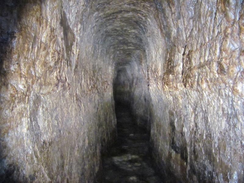 Hezekiah's Tunnel Jerusalem Israel-Jordan Tour March 2017