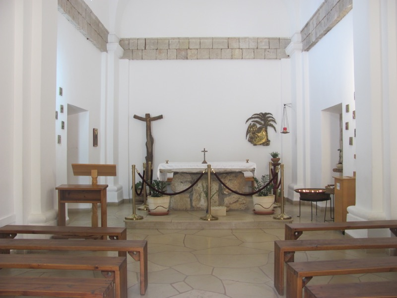Mt. Carmel chapel Israel March 2017 Israel-Jordan Tour