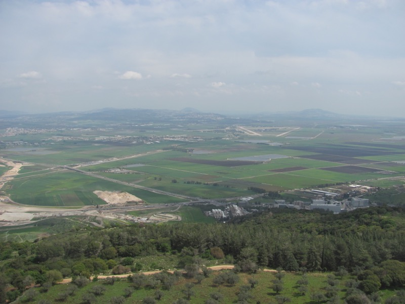 Jezreel Valley Israel March 2017 Israel-Jordan Tour