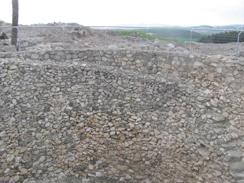 Megiddo granary Israel March 2017 Israel-Jordan Tour