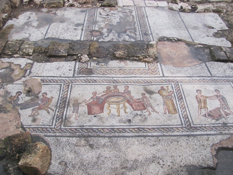 Sepporis mosaics Israel March 2017 Israel-Jordan Tour