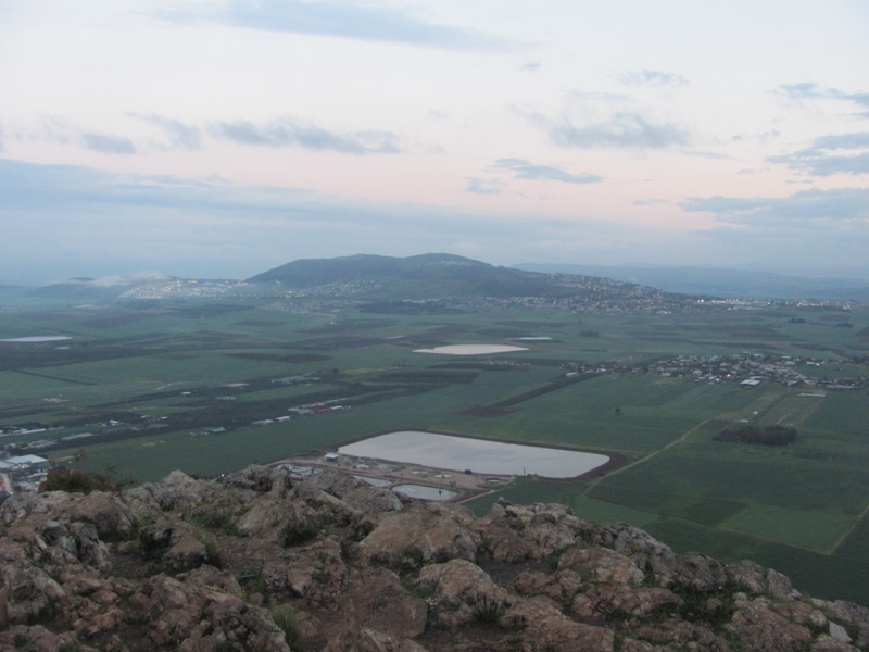 Hill of Moreh Jezreel Valley Israel March 2017 Israel-Jordan Tour