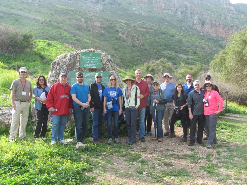 Mt. Arbel Israel - Jordan Tour March 2017