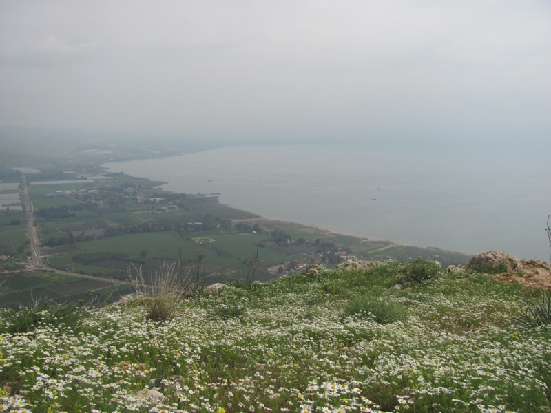Sea of Galilee Israel - Jordan Tour March 2017