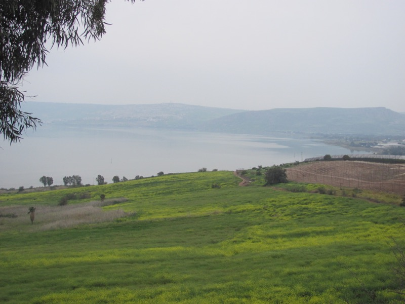 Mt. of Beatitudes Israel - Jordan Tour March 2017