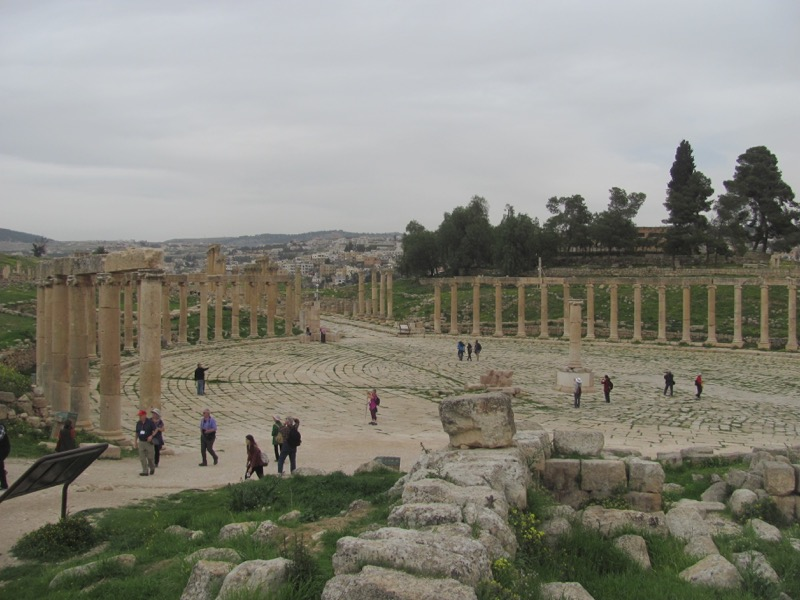 Jerash Jordan Israel-Jordan Tour March 2017