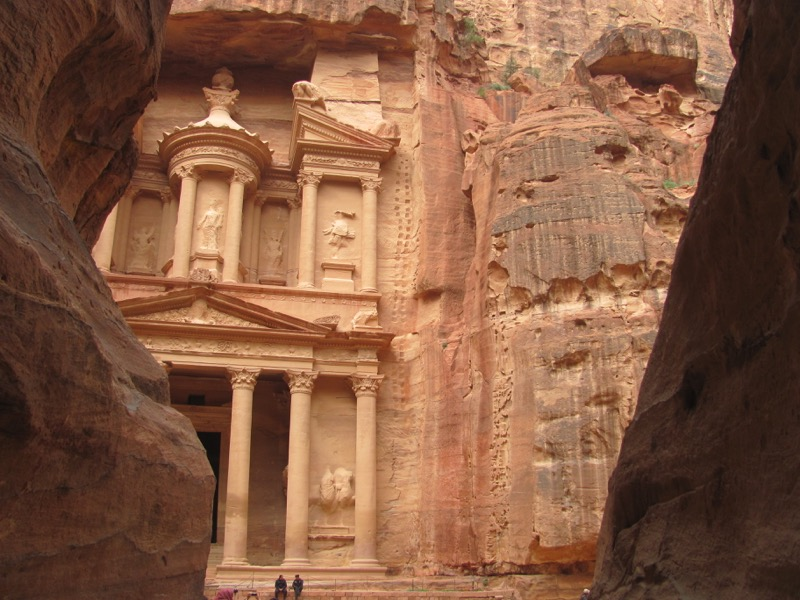 Petra Treasury Jordan Israel-Jordan Tour March 2017