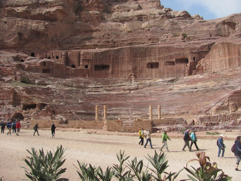 Petra theater Jordan Israel-Jordan Tour March 2017