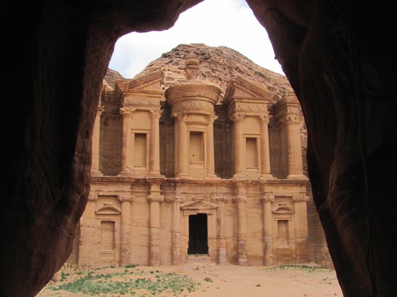 Petra Monastery Jordan Israel-Jordan Tour March 2017