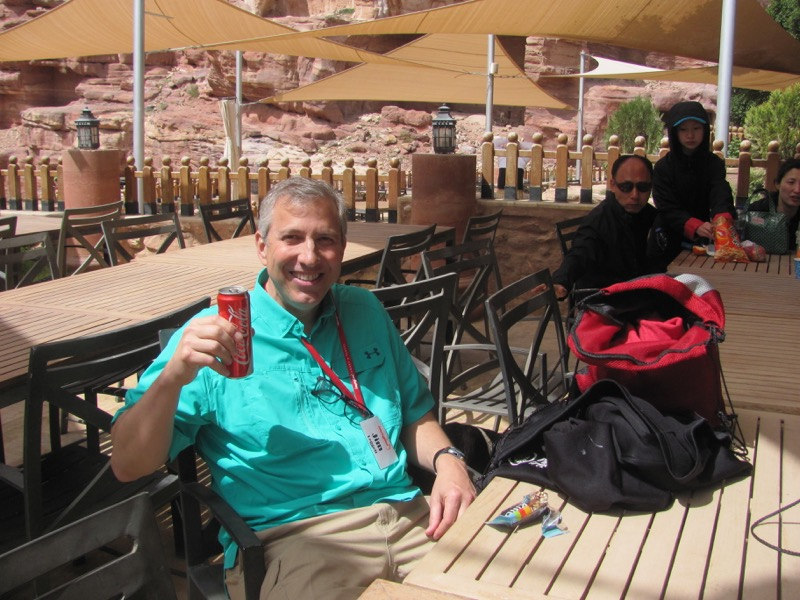 Petra Coke Jordan Israel-Jordan Tour March 2017