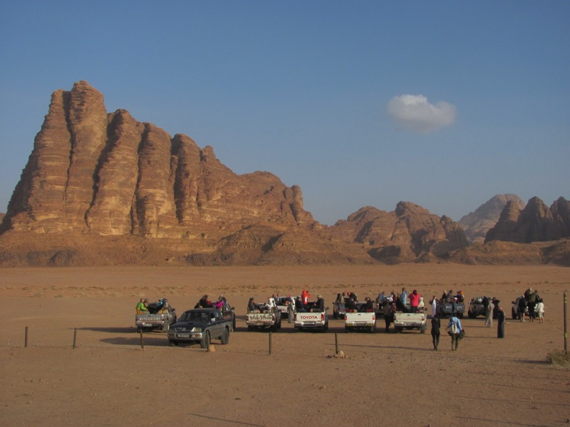 Wadi Rum Jordan Israel-Jordan Tour March 2017
