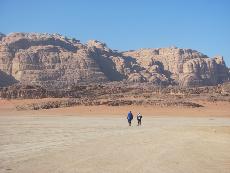 Wadi Rum Israel-Jordan Tour March 2017