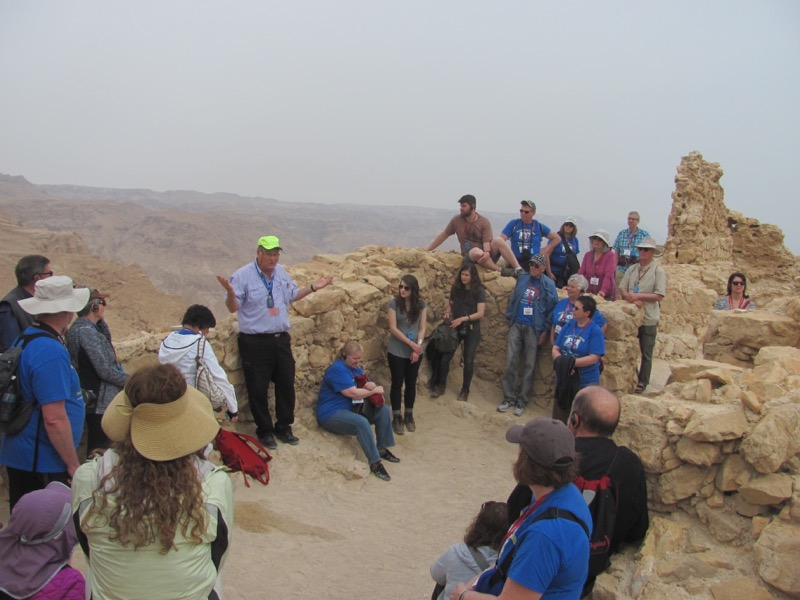 Masada Israel-Jordan Tour March 2017