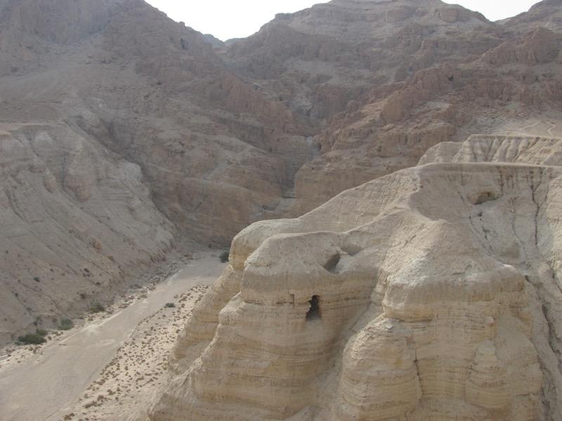 Qumran Cave 4 Israel-Jordan Tour March 2017