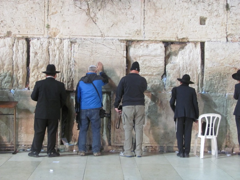 Western Wall Israel-Jordan Tour March 2017
