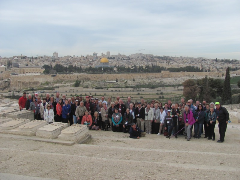 Biblical Israel & Jordan Tour,  March 2017 – Day 10 Summary