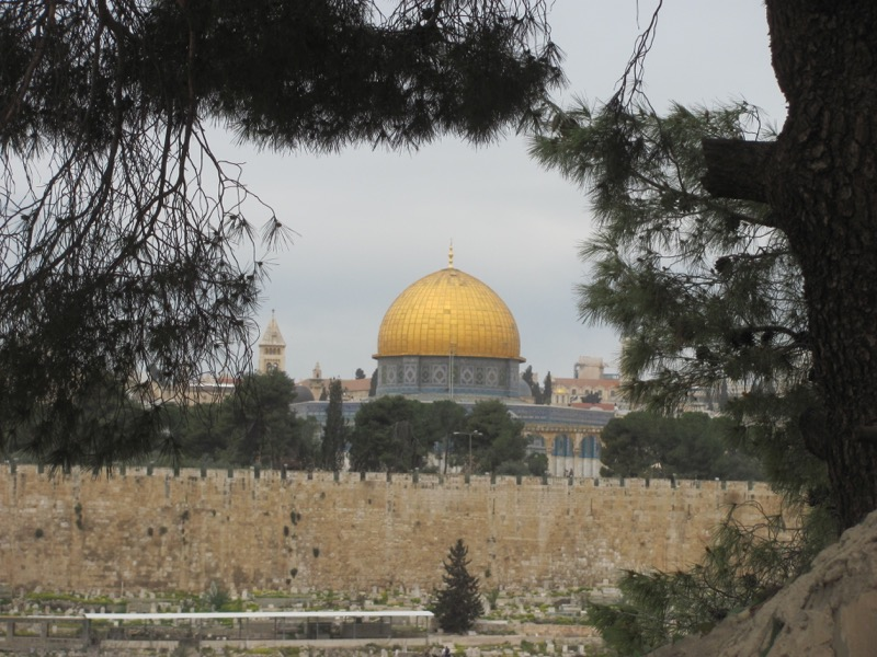 Jerusalem Dome of Rock Israel-Jordan Tour March 2017
