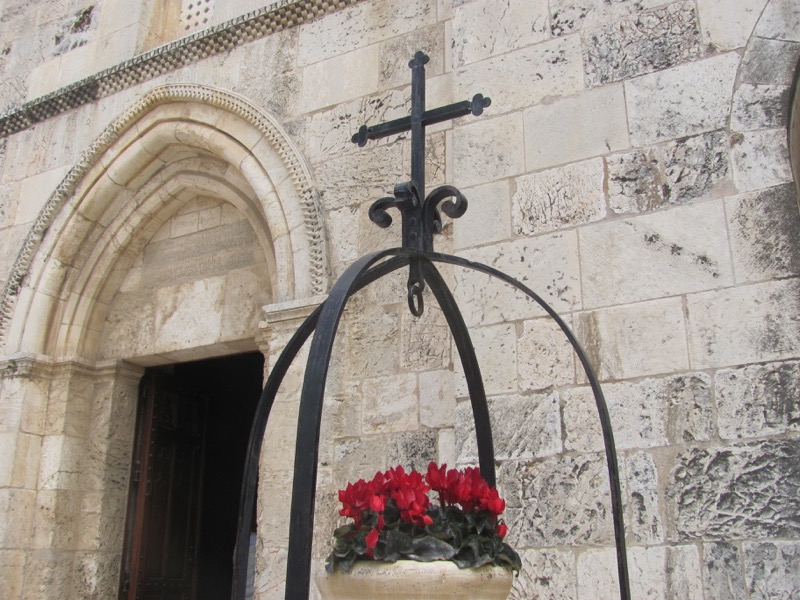 Jerusalem St. Anne's Church Mount Israel-Jordan Tour March 2017