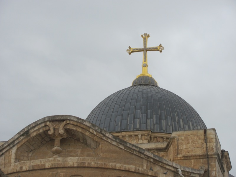 Jerusalem Church of Holy Sepulcher Israel-Jordan Tour March 2017