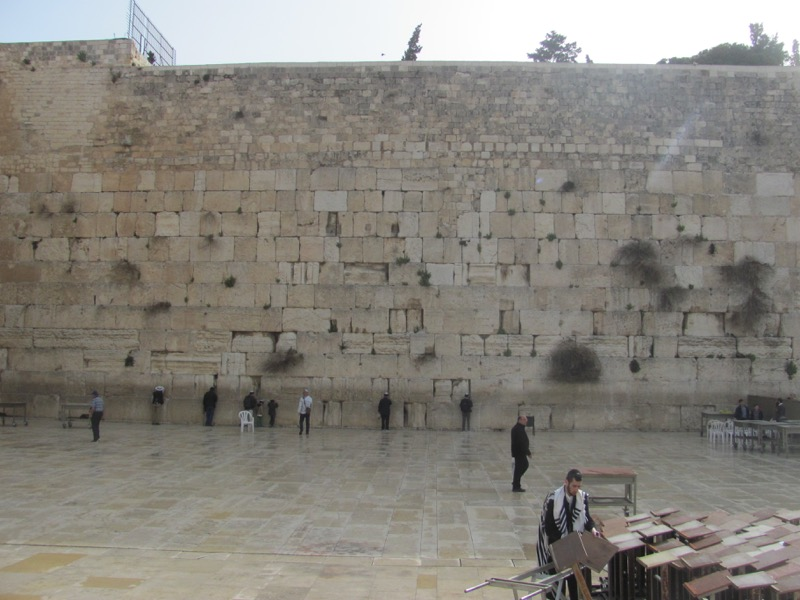 Western Wall Jerusalem Israel-Jordan Tour March 2017
