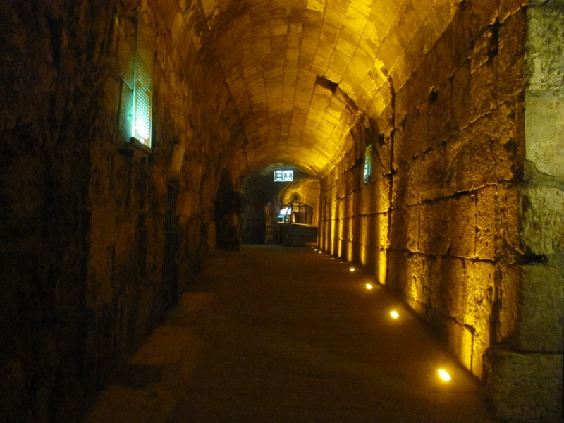 Western Wall Tunnel Jerusalem Israel-Jordan Tour March 2017