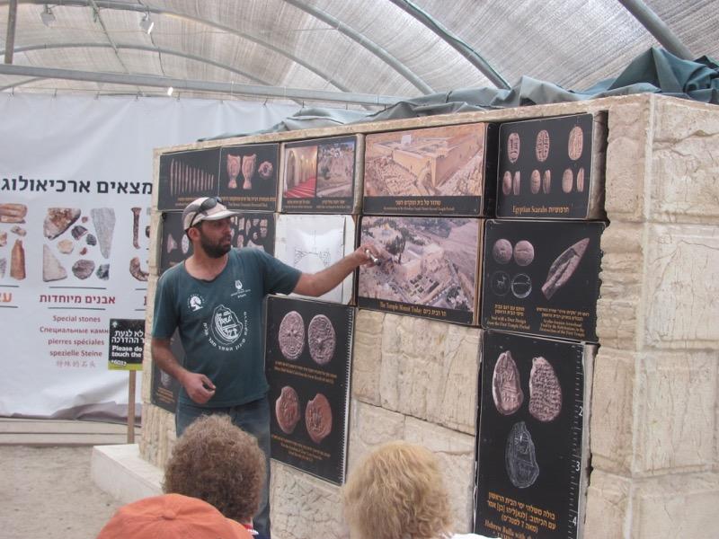 Temple Mount Sifting Jerusalem Israel-Jordan Tour March 2017