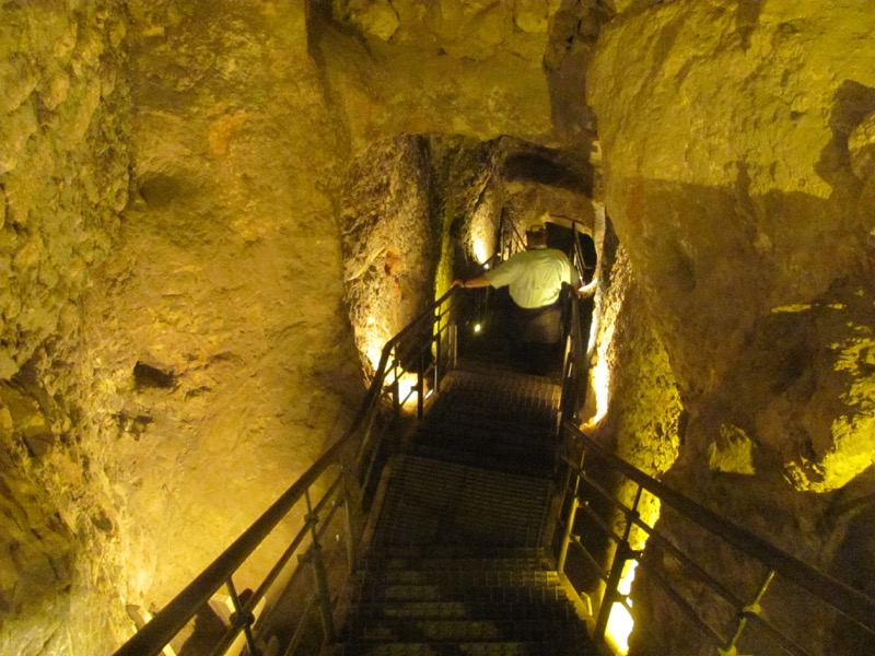 Warren's Shaft Jerusalem Israel-Jordan Tour March 2017
