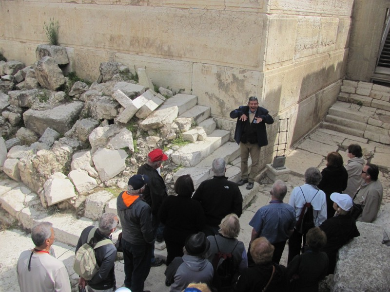 Pinnacle of Temple Jerusalem Israel-Jordan Tour March 2017